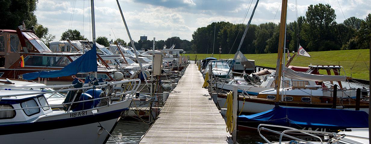 Hafen Korbhaussee